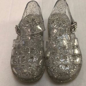 Gap sparkling Jelly sandals  Size 7